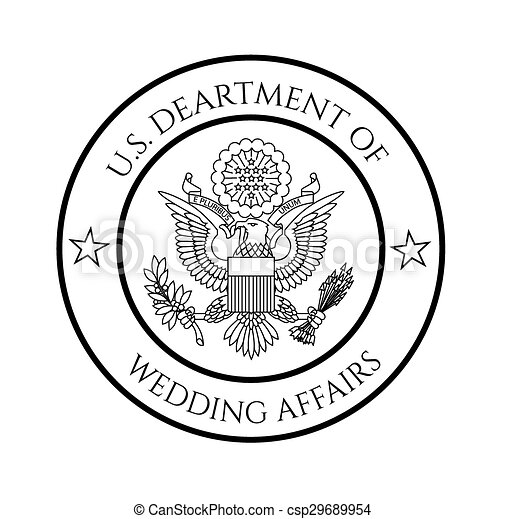 Clip Art Vector of President Seal Rubber Stamp - A depiction of ...