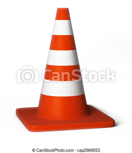traffic cones - csp2969053