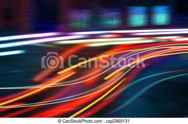 Hectic traffic - csp2969131