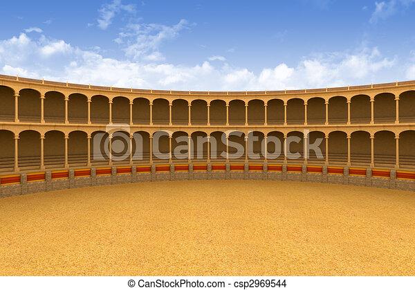 Ancient coliseum arena - csp2969544