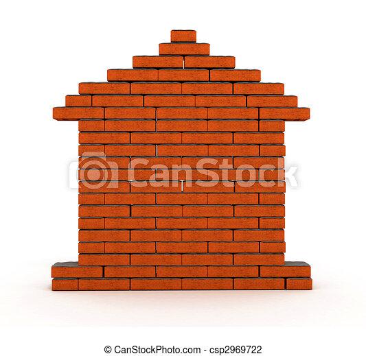 brick house - csp2969722