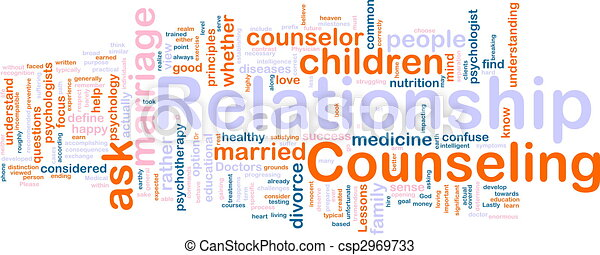 Relationship counseling - csp2969733