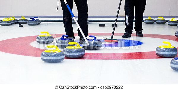 Curling - csp2970222