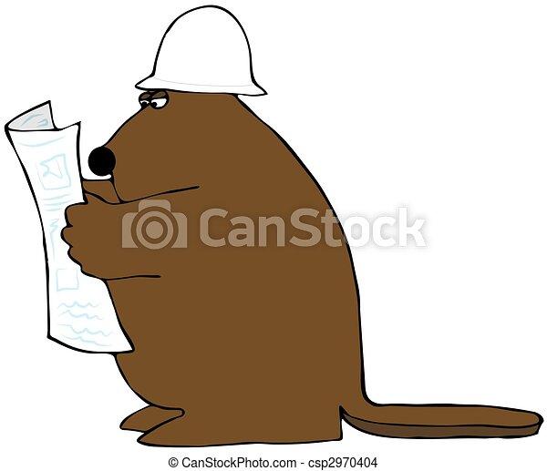 Beaver Reading Blueprints - csp2970404