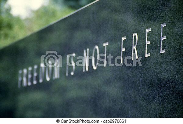 freedom stone - csp2970661
