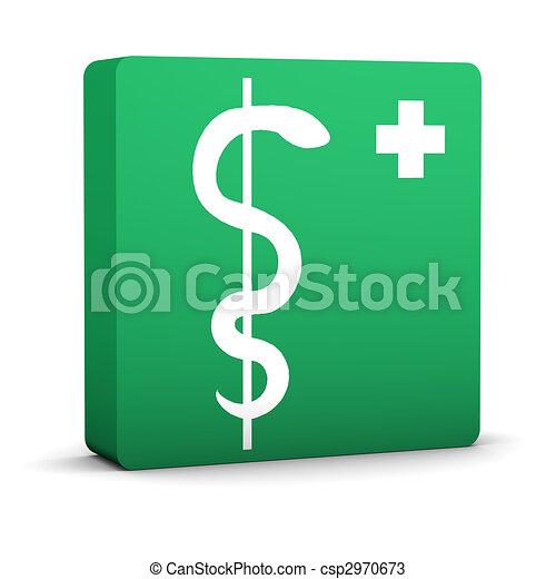 farmacia, señal - csp2970673