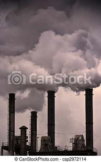 Global Warming - Air Pollution - csp2972114
