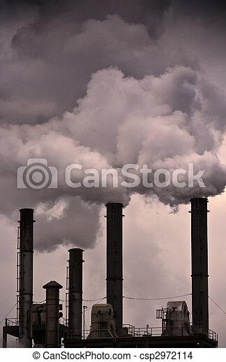 Global Warming - Air Pollution - csp2972114