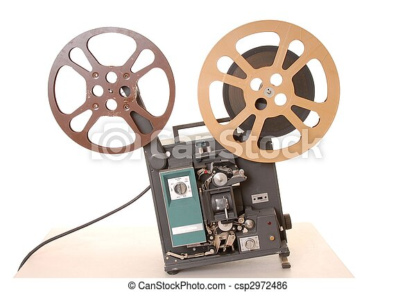 Film Projector 16MM - csp2972486