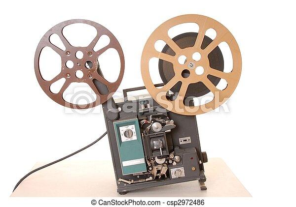 Film Projector 16MM - csp2972486