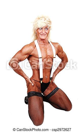 bodybuilder kvinna