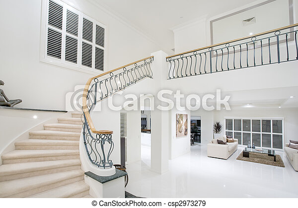 Luxury Mansion hallway - csp2973279