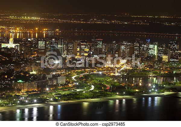 Centro CBD Rio De Janeiro Brazil - csp2973485