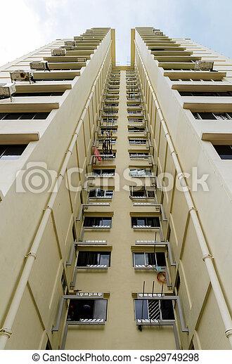 stock de fotos residencial edificios singapur