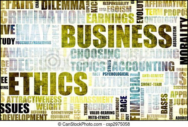 Business Ethics - csp2975058