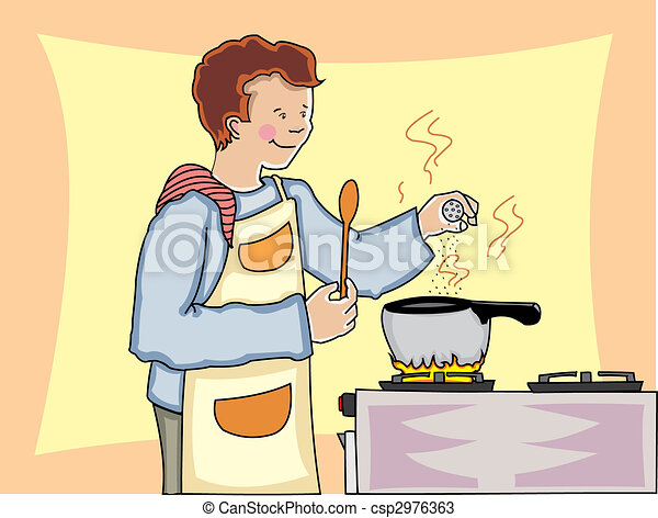 Hot Stove Clipart to a Hot Pot on a Stove