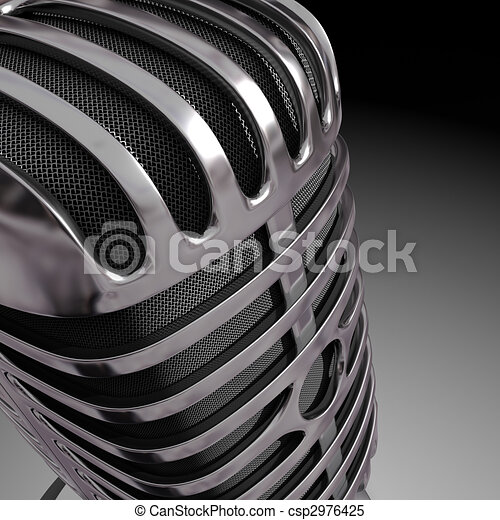 Classic Microphone - csp2976425