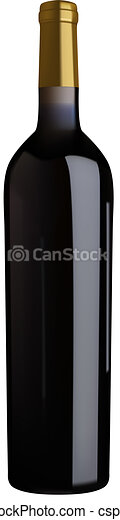 red wine bottle - csp2979091