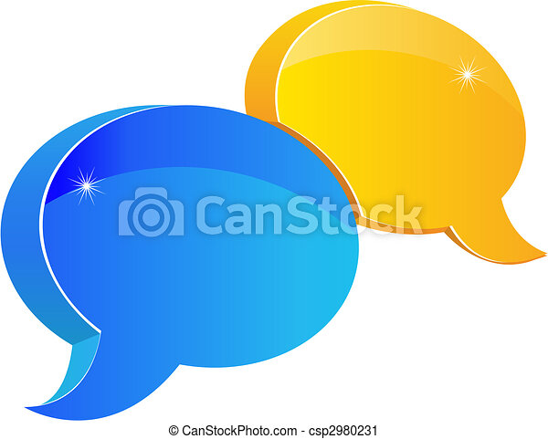Speech or chat icon - csp2980231