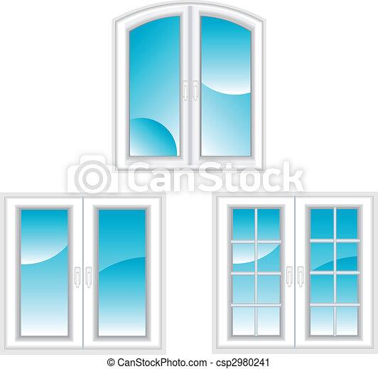 Plastic windows - csp2980241