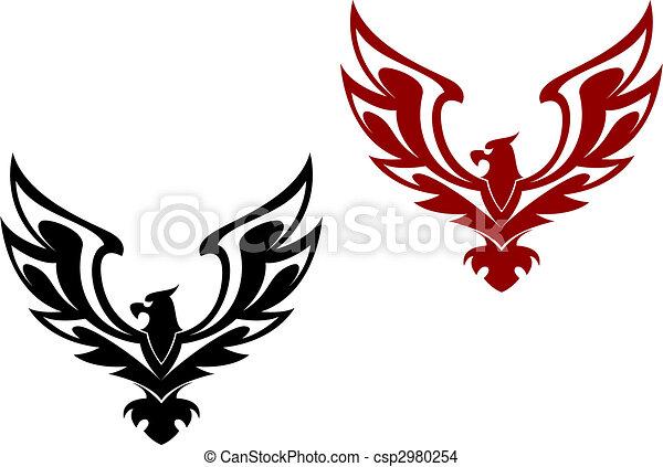 Eagle symbol - csp2980254