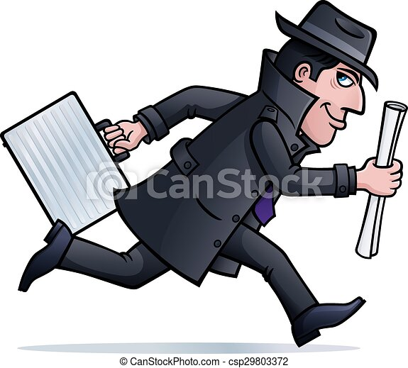 Double agent Vector Clipart Royalty Free. 11 Double agent clip art ...