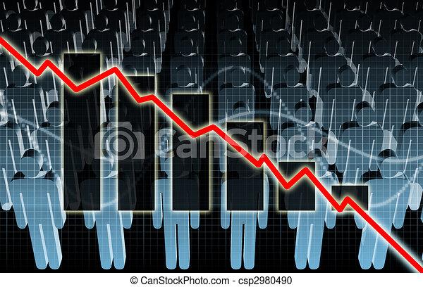 Rising Unemployment - csp2980490