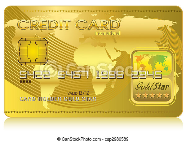 Credit Card (Vector) - csp2980589