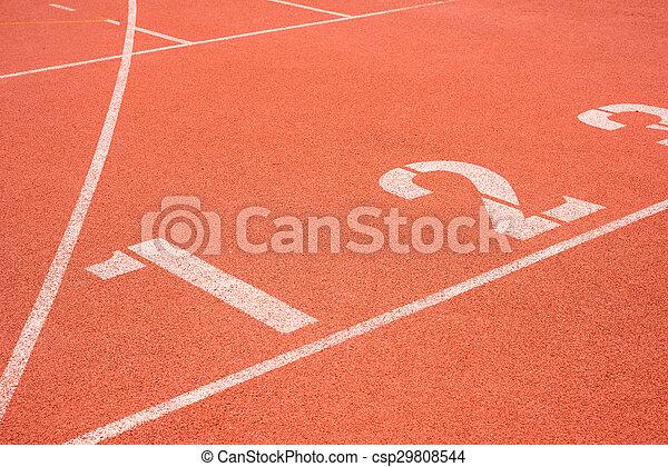 retro sport running track