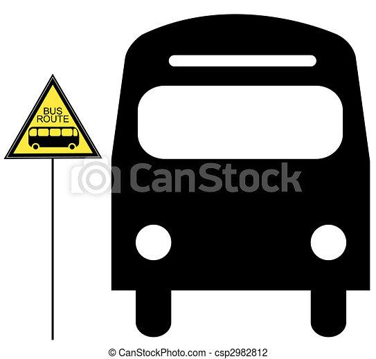 Bus Stop Sign Images Bus Stop Sign Clip Art