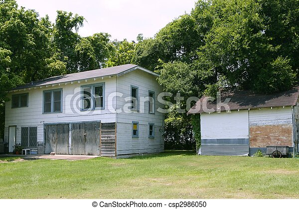 Country houses in Texas with trees