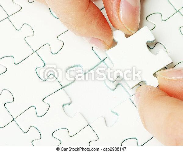 puzzle piece - csp2988147