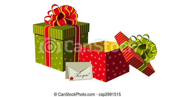 Christmas gifts boxes - csp2991515