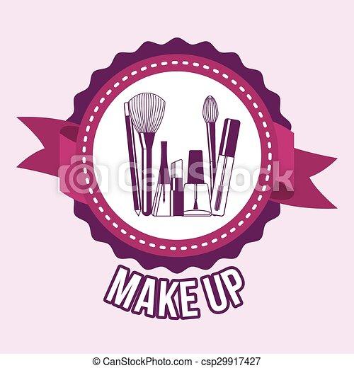 make up - csp29917427