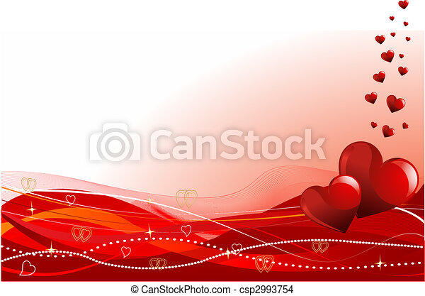 Valentine's day background - csp2993754