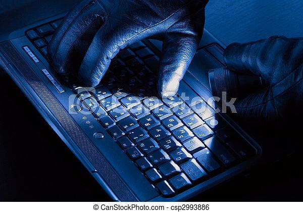 Hands of hacker - csp2993886
