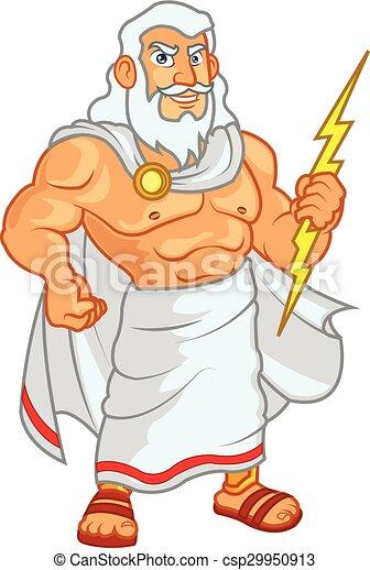Clip Art Zeus Clipart vector clip art of zeus cartoon illustration god cartoon