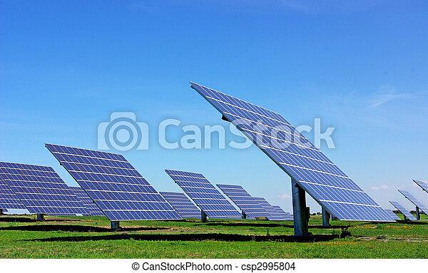 Photovoltaic panels. - csp2995804