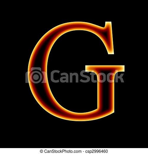 fire font - csp2996460