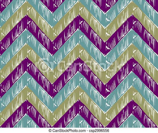 Zigzag striped background - csp2996556