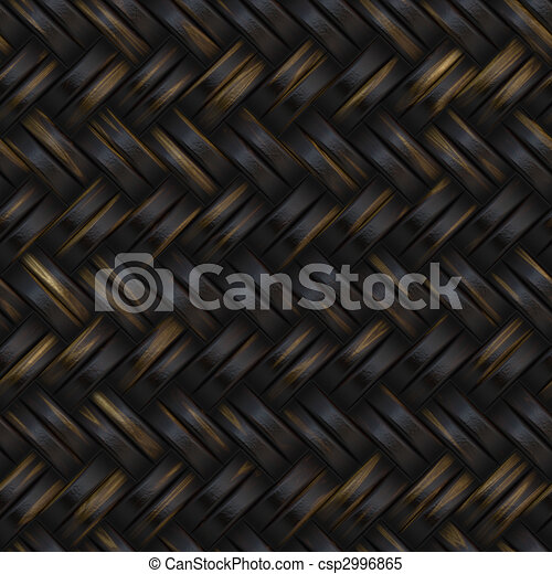 Woven basket twill texture - csp2996865