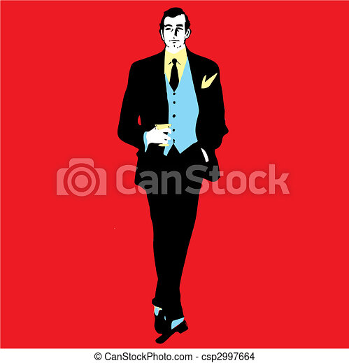 Elegance man - csp2997664