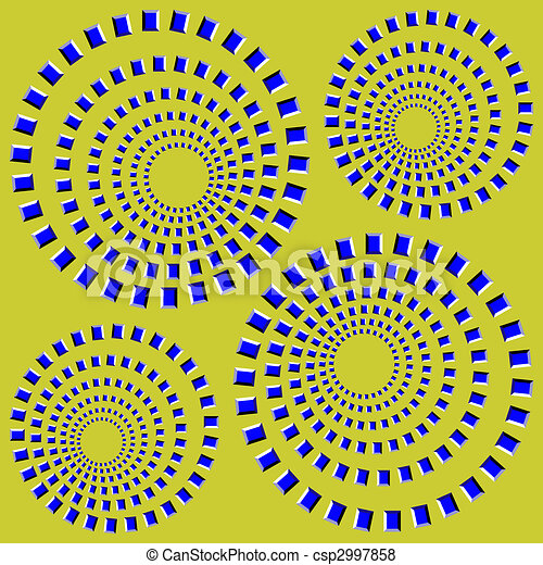 optical illusion  - csp2997858