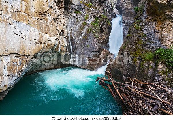 Canyon in Banff NP - csp29980860