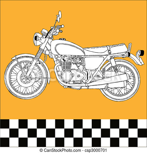 Motocycle - csp3000701