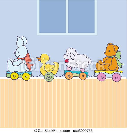 Vector toys stock illustration royalty free illustrations stock