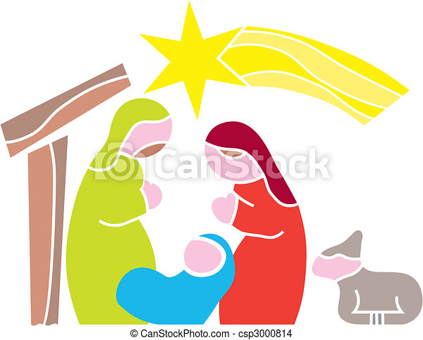 Star of Bethlehem. Nativity - csp3000814