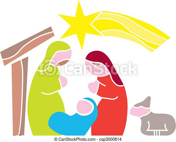 Star of Bethlehem. Nativity - csp3000814