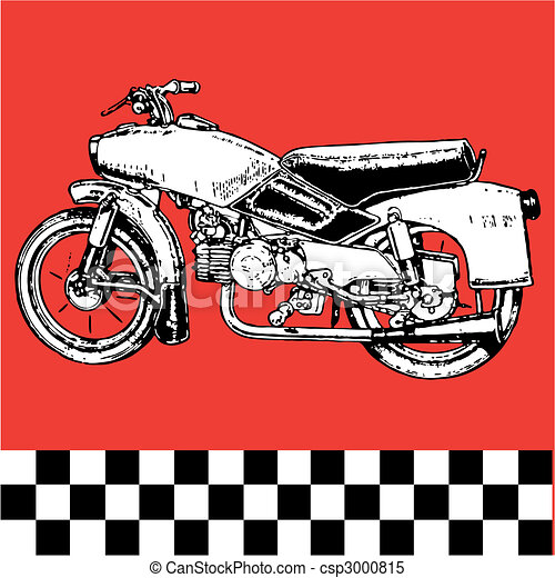 fantastic moto motocycle - csp3000815
