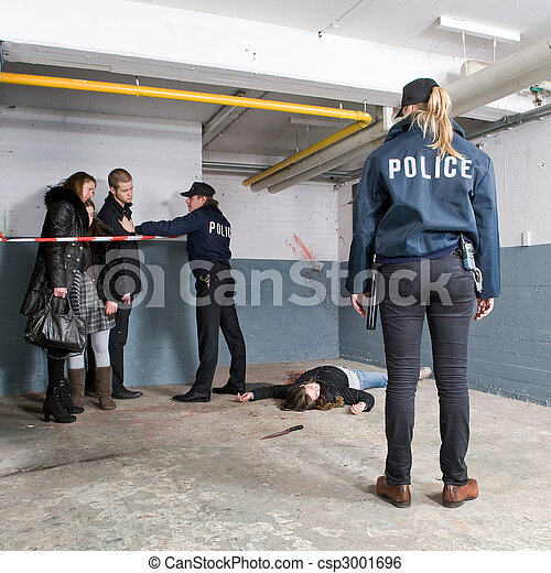 Murder Scene discovery
